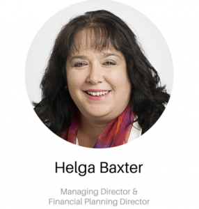 Helga Baxter - Managing Director and FP Director